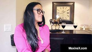 Asian Mom MaxineX Coaches Step Son's GF Skylar Harris About Anal