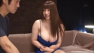Kinky wholesale Saegusa Chitoes gets her pussy and ass poked with toys