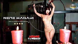 Nene Masaki is having a blast not later than a bondage session