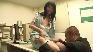 Closeup video of a pretty Japanese babe sucking a large learn of