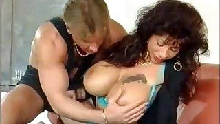 german buxom Gina Colany vintage porn